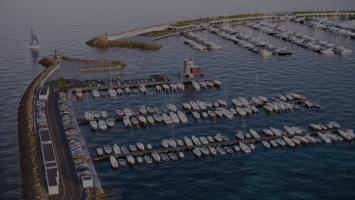 Progetto BIM Marina di Gaeta Rendering