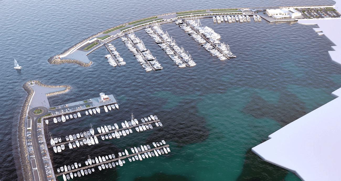 Progetto marina di Gaeta realizzato con metodologia BIM