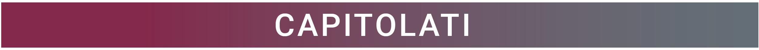 Capitolati